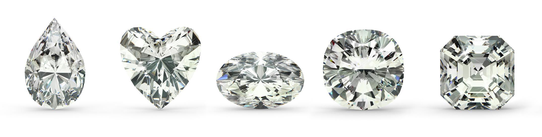 jiné tvary diamantů