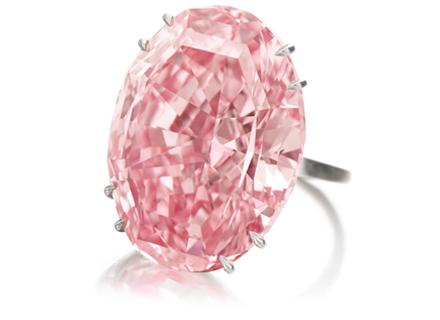 Růžový diamant Pink Star
