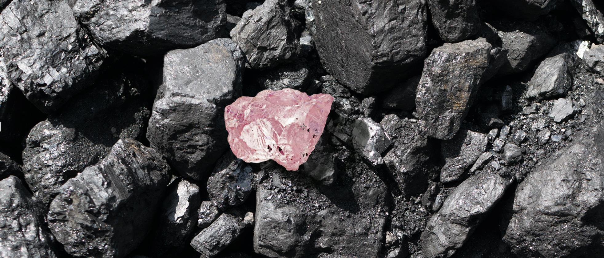 surový diamant argyle