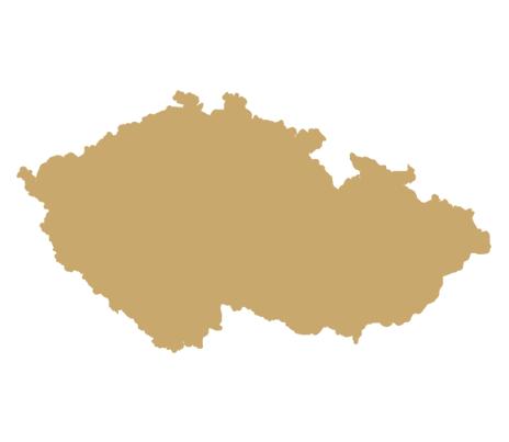 almandin výskyt v ČR
