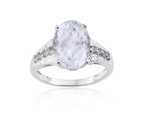 prsten s berzbarvým berylem