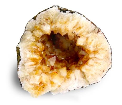 citrín geoda