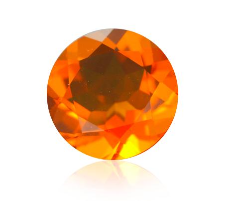 průhlednost ohnivého opálu
