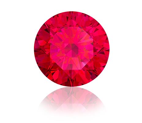 fluorescence rubínu