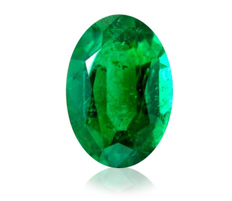 smaragd - vnitřní inkluze