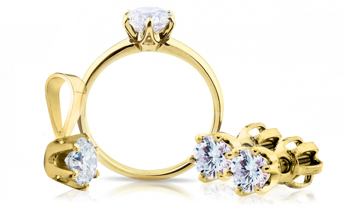 šperky s diamanty