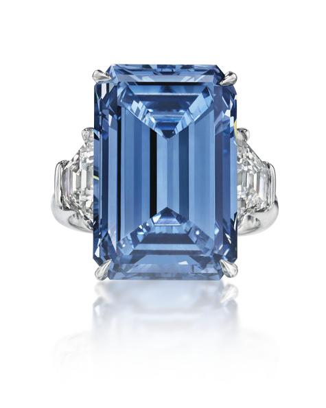 Modrý diamant Oppenheimer Blue