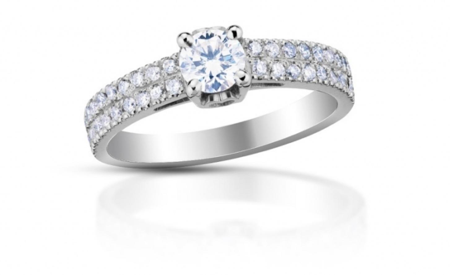 pavé - osazení diamantů