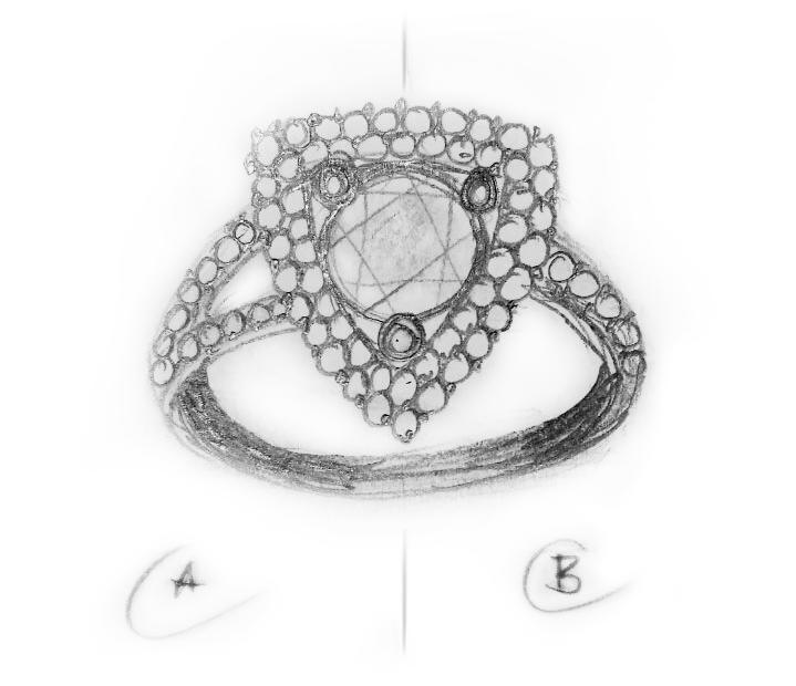 návrh prstenu
