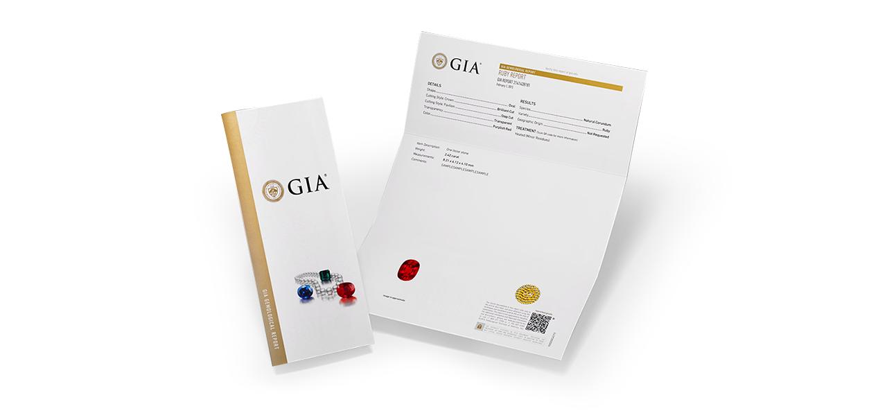 GIA - Certifikát pro drahokamy
