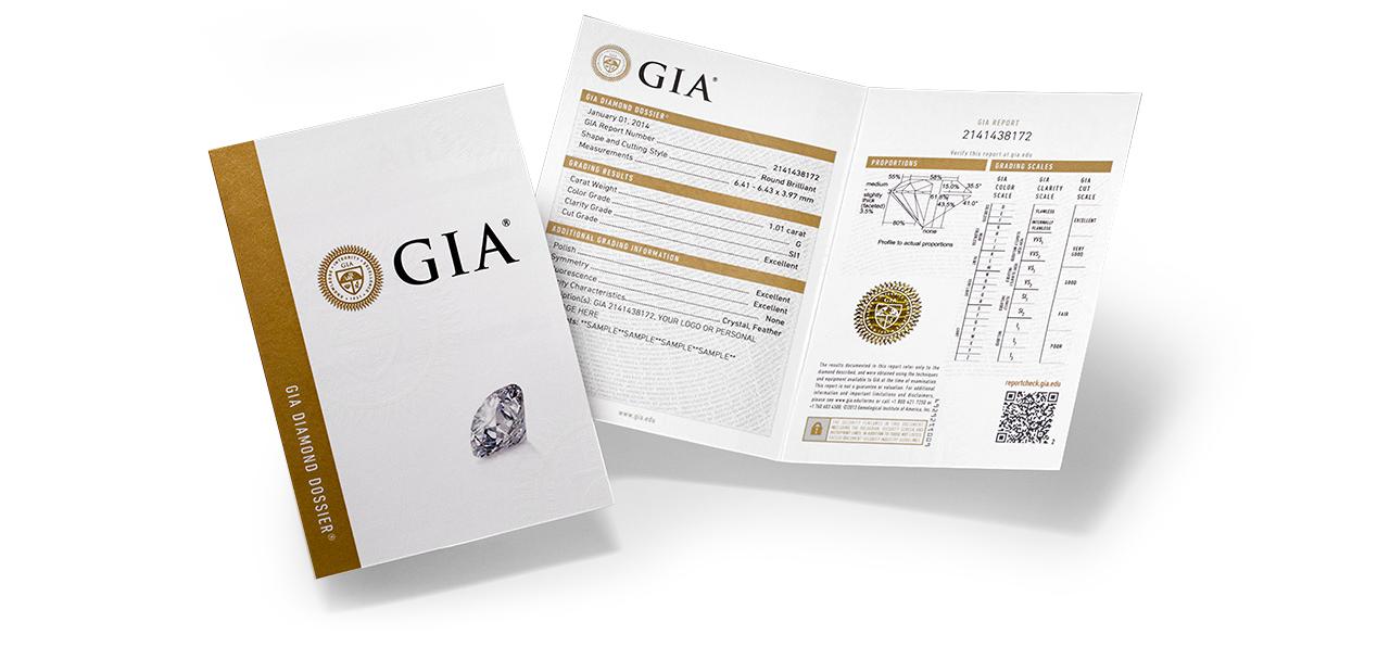 GIA certifikát malý
