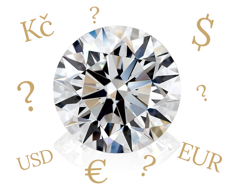 Ceny diamantů VVDiamonds