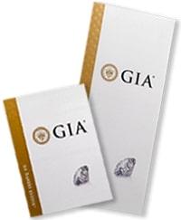 Certifikát GIA