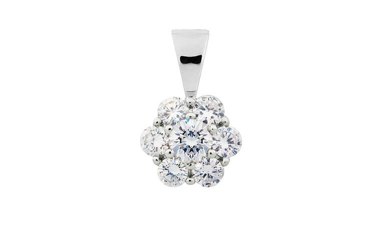 Diamantové přívěsky
